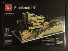 Lego 21005 - Architecture - Fallingwater - Frank Lloyd   Retired - NISB