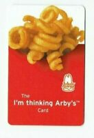 Arby's Gift Card Curly Fries, Fast Food Restaurant - 2006 - No Value - I Combine