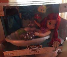 Disney Animators Collection Bathtub Ariel Little Mermaid NIB