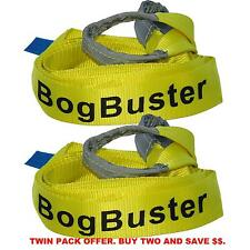 BOGBUSTER TOW STRAP BRIDLE WINCH EXTENSION TREE TREE TRUNK PROTECTOR SNATCH X 2
