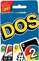 Mattel Games DOS Uno Family Card Game - FREE NEXT DAY DELIVERY - DPD - UK