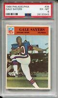 1966 Philadelphia Football #38 Gale Sayers Rookie Card RC Graded PSA 6 Bears '66