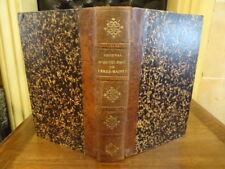 Journal d'un pélerin de Terre-Sainte Abbé Verrier Grobon Payan 1871 Cartes