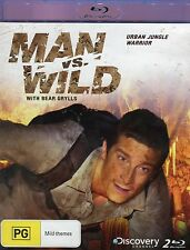 Man Vs Wild - Urban Jungle Warrior (2 Discs)- Brand New - Region B - Aust Seller