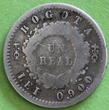 COLOMBIE UN REAL BOGOTA 1852