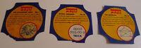 1950's Wonder Magic bread label lot of 3 different with empty album
