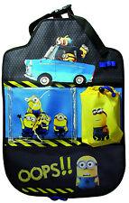 Minions Rückenlehnentasche Auto Spielzeugtasche Rückenlehnenschutz Kinder NEU