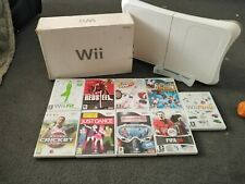 Boxed Nintendo Wii MEGA Bundle with games and fit board