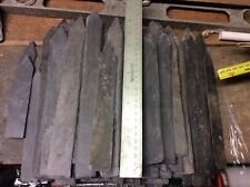 """Natural Slate Plant Labels/Markers Mixed Sizes Long 8"""" Plus Heavy Duty 2nds"""