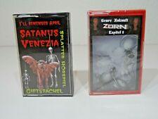 Hörspiel MC - Splatter Horror Giftstachel Satanus Venezia RAR & Zorn - OVP - TOP