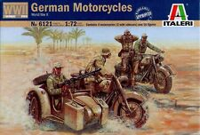 Italeri - German motorcycles (World War II) - 1:72