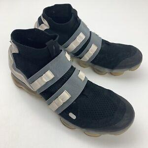 Nike Air Vapormax Flyknit Utility Mens Shoes Size 12 Grey Black White ah6834-003