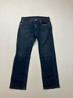 LEVI'S 559 RELAXED STRAIGHT Jeans - W33 L30 - Navy - Great Condition - Men's