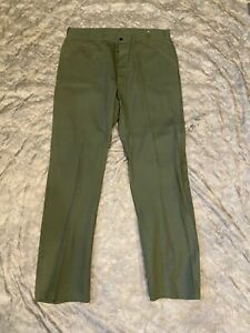 US Army M-1947 HBT Fatigue Pants Trousers Private Purchase M47 Korean War 42x36