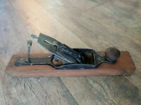 "Antique Transitional Plane Wood & Metal Woodworking Tools 15"" x 3"""