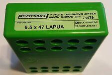 71479 REDDING TYPE-S NECK BUSHING SIZING DIE - 6.5 X 47 LAPUA - BRAND NEW