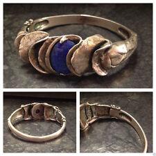Echte Edelstein-Armbänder im Armreif-Stil mit Lapis Lazuli für Damen