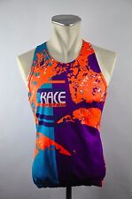 Castelli vintage Tank Top Bike Cycle Jersey Maglia Roue Maillot 90er Taille M x13