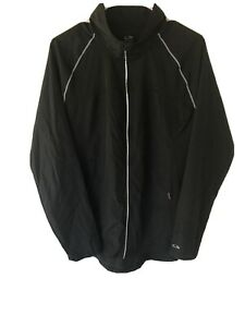 Champion Women's Duo Dry Jacket Black Size Large Athletic Active Wear