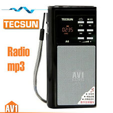 TECSUN A6 Portable FM radio, Quality MP3 digital speaker. Insert card player.