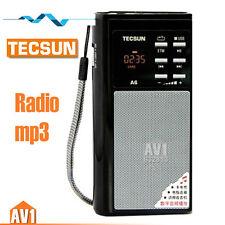 TECSUN A6 Portable FM radio, Quality MP3 digital speaker. Insert card player.