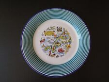 """"""" CORNWALL"""" SOUVENIR PLATE MADE IN STAFFORDSHIRE"""