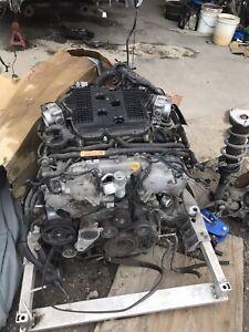 2009 - 2013 Infiniti G37 370Z Engine Motor VQ37VHR RWD OEM RWD