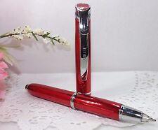 3 in 1 Medina Lighted Tip Red Stylus Pen Flashlight by Adler - HIGH QUALITY