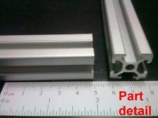 "Aluminum T-slot 2020 extruded profile 20x20-6 Length 500mm (<20""), 4 pieces set"