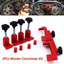 5pc Car Dual Cam Clamp Camshaft Timing Sprocket Gear Locking Tool Gear Fixed Kit