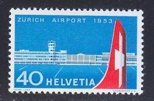 Switzerland 1953 MNH Mi 585 Sc 344 Opening of Zurich-Kloten airport