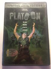 platoon dvd special edition like new