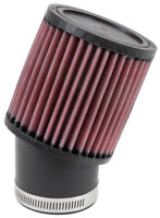 "RU-1750 K&N Universal Rubber Air Filter 2-7/16""20 DEG FLG, 3-3/4""OD, 4""H (KN Uni"