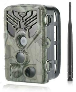 20MP 3G Wildkamera HC-810G Fotofalle Überwachungskamera GPRS 120° HD Jagdkamera