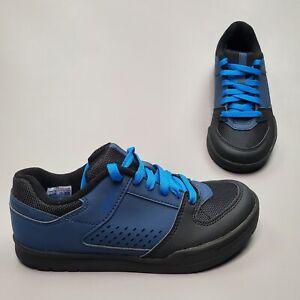 Shimano GR5 SH-GR500 Flat Pedal Cycling Shoes Men's 39 US 6 Blue Lace Up