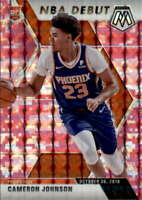 2019-20 Panini Mosaic Pink Camo 265 Cameron Johnson RC Rookie NBA Debut