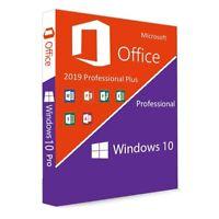 ✅ BUNDLE ✅ Windows 10 Pro  und Office 2019 Professional  ✅ 30 Sec Mail Shipping