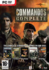 Commandos Complete PC 5 Game Collection Strike Force Beyond The Call Of Duty