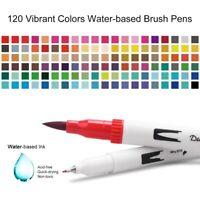 Coloring Markers Pen Dual Brush Art Fine Tip Pens Drawing Painting Watercolor