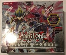 Yugioh Galactic Overlord 1st Edition 24-count Booster Box Card Game