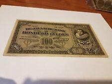 Netherland indies 100 gulden 1929