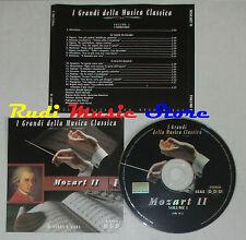 CD MOZART 2 I 2000 GRANDI DELLA MUSICA CLASSICA spacek oswald kaspora lp mc dvd