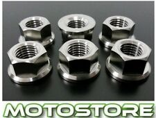 TITANIUM SPROCKET NUTS SUZUKI GS500E 1989-2012 GS500