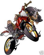 SET ADESIVI irrer SU ENDURO ROSSO 17x14cm ROSSO air motocross decalcomania CASCO