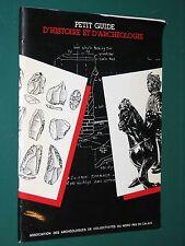 Petit guide d'Histoire et d'Achéologie DEMOLON DENNEZ HARNAY Nord Pas de Calais