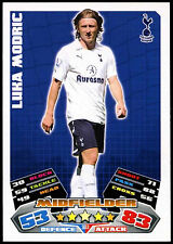 Luka Modric #303 Topps Match Attax Football 2011-12 Trade Card (C208)