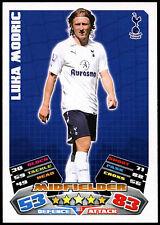 Luka Modric #303 Topps Match Attax Fútbol 2011-12 tarjeta de comercio (C208)