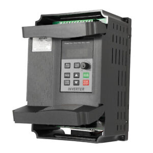 2.2KW 12A 3HP Variable Frequency Inverter Motor Drive VFD Single In 3 Phase B5G2