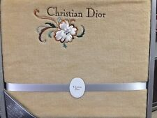 Authentic Christian Dior Blanket or Bed Sheet