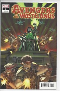 AVENGERS OF THE WASTELANDS 1 1:50 WILL SLINEY VARIANT NM (9.6)